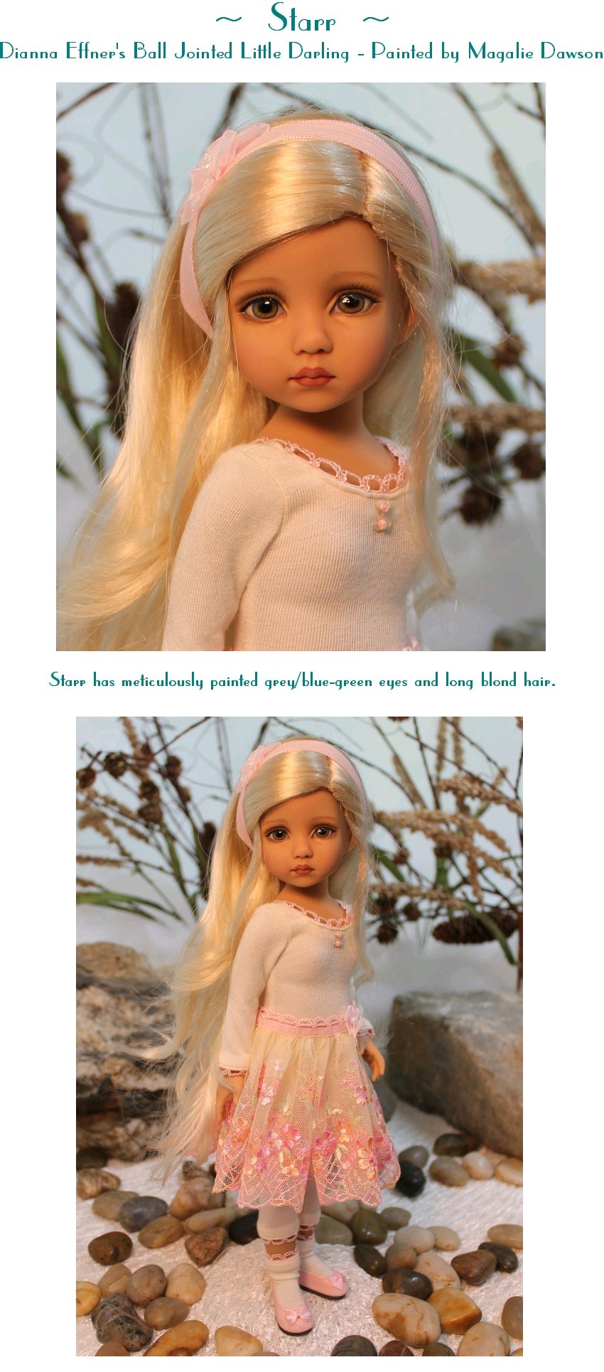 Starr - a Ball Jointed Little Darling